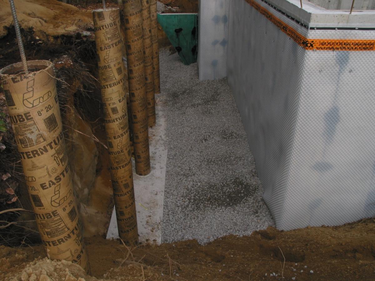 Home Inspection; gravel depth