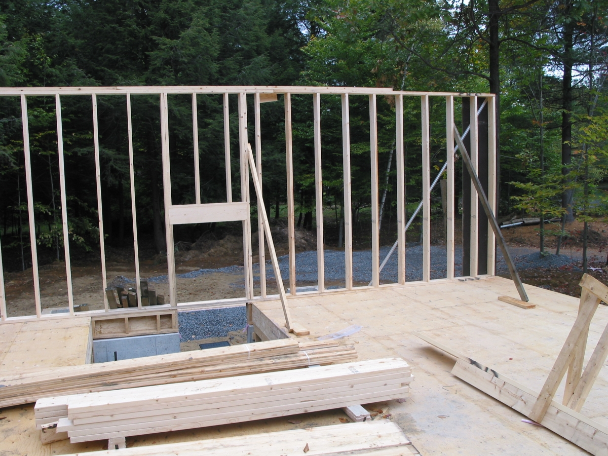 Home Inspection; Wall construction