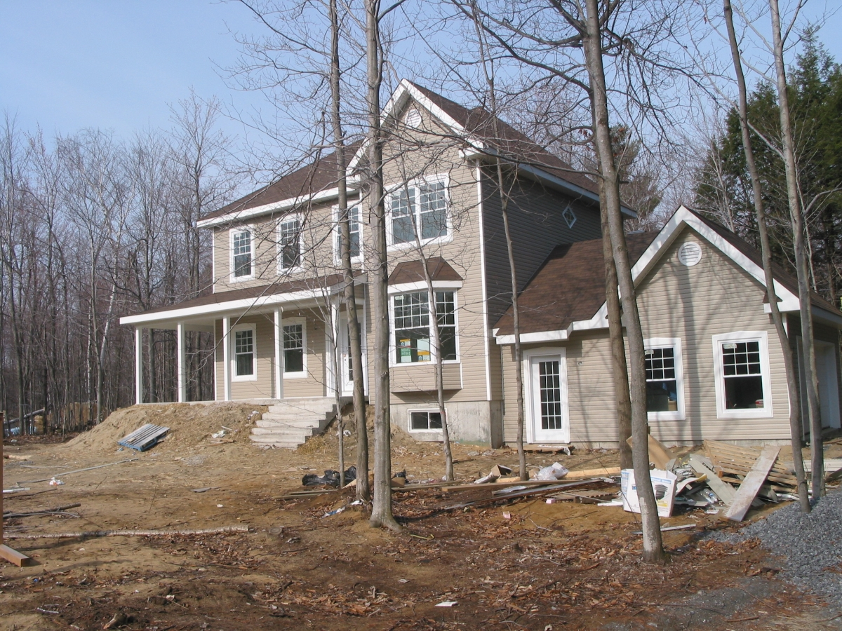 Home Inspection; Front of house